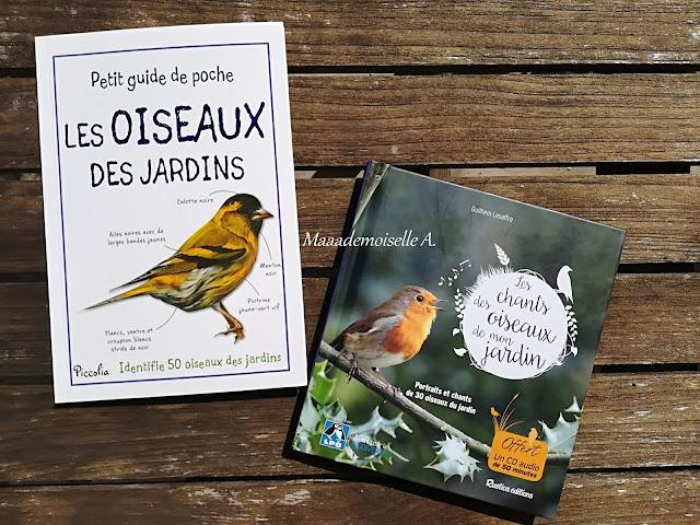 > Petit guide de poche - Les oiseaux des jardins  > Les chants des oiseaux de mon jardin
