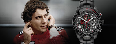 Ayrton Senna Limited Edition TAG Heuer watches
