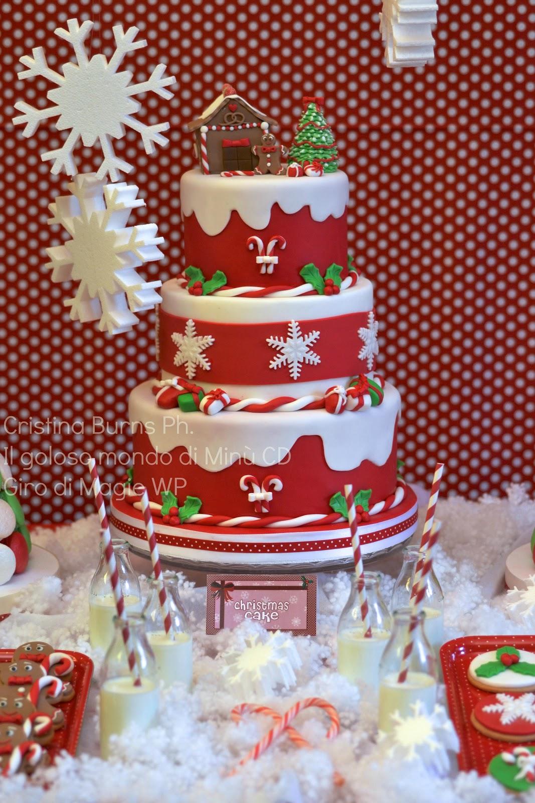 Il Goloso Mondo Di Minu Christmas Sweet Table