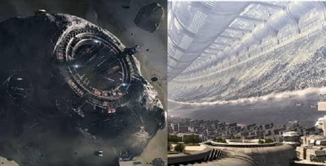 Έχουμε Τεχνολογία για Κατασκευή Αστεροειδή ως Επανδρωμένο Διαστημόπλοιο; (video)