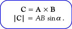 Rumus perkalian silang vektor