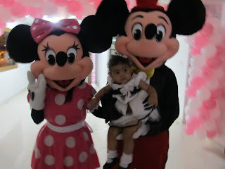 PERSONAJE MINNIE MOUSE PARA FIESTAS INFANTILES