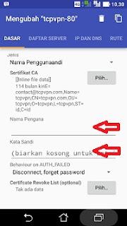 Cara menjalankan openvpn for android langkah 4