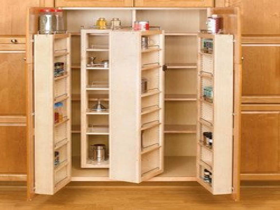 Small Kitchen Remodeling Ideas With Space Saving Pantry
