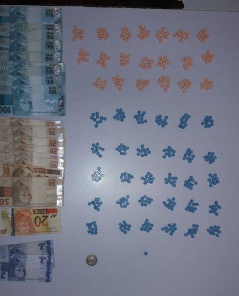 Dupla é presa com 500 comprimidos de ecstasy em Aguas da Prata (SP)