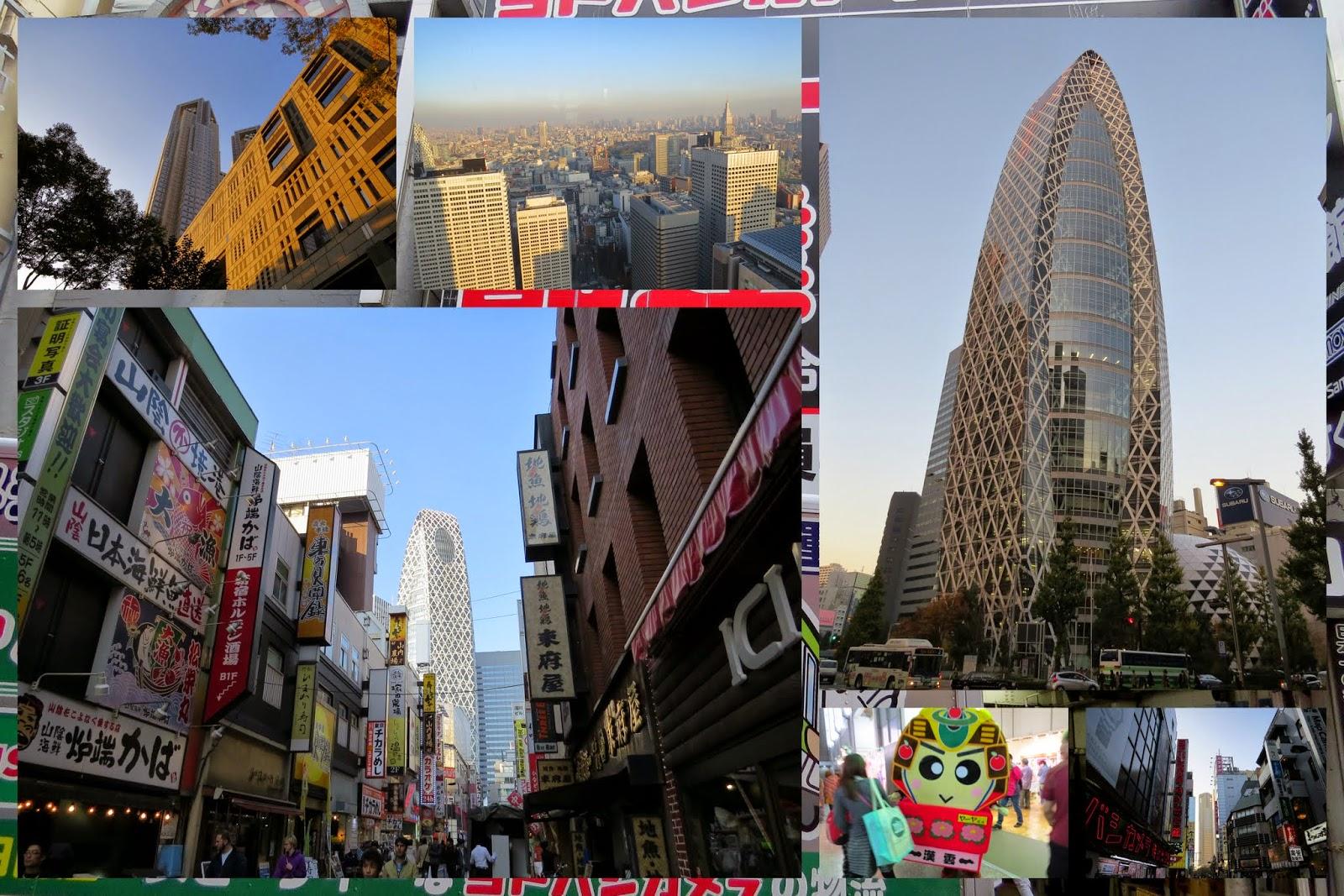 Tokyo neighborhoods - Shinjuku