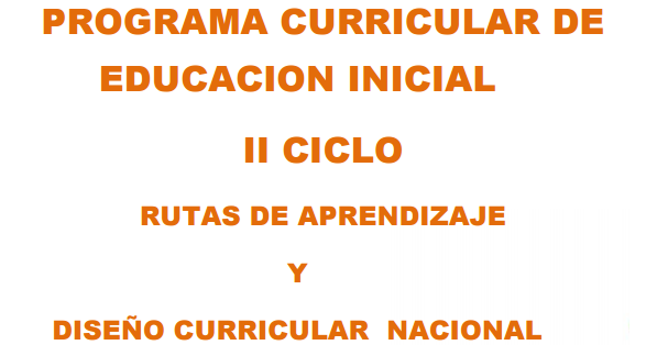 programa curricular de educaci n inicial nombramiento y