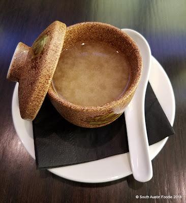Soto Austin Miso Soup