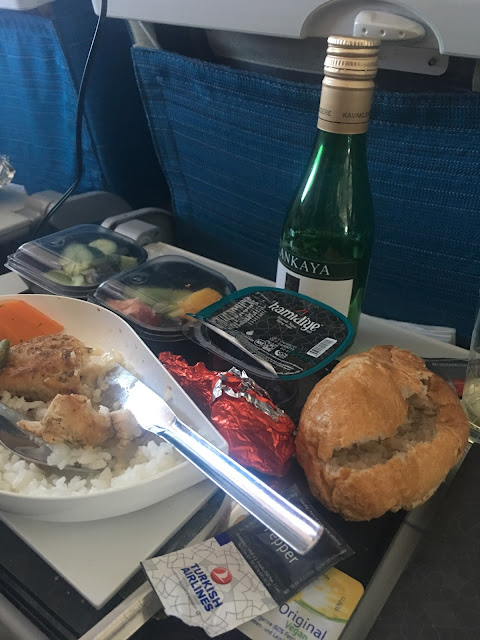 Turkish airlines inflight meal, Lactose free option