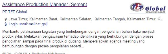 Info Lowongan Kerja Terbaru Kabupaten Pulang Pisau 2019