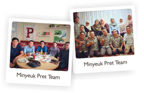 Minyeuk Pret Team