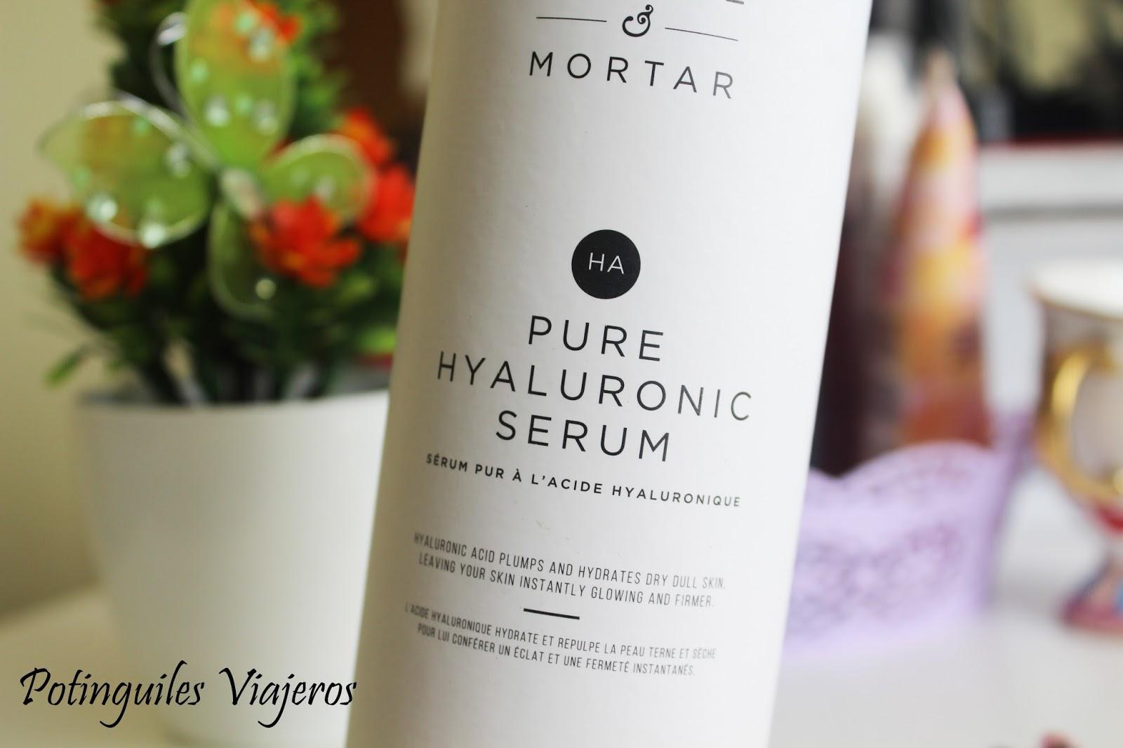 Potinguiles Viajeros : Serum Pure Hyaluronic de Pestle
