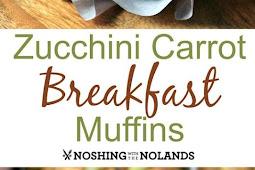 ZUCCHINI CARROT BREAKFAST MUFFINS