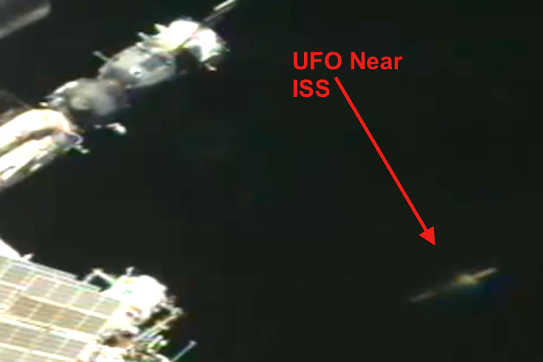 UFO SIGHTINGS DAILY: UFO Disk Near International Space ...