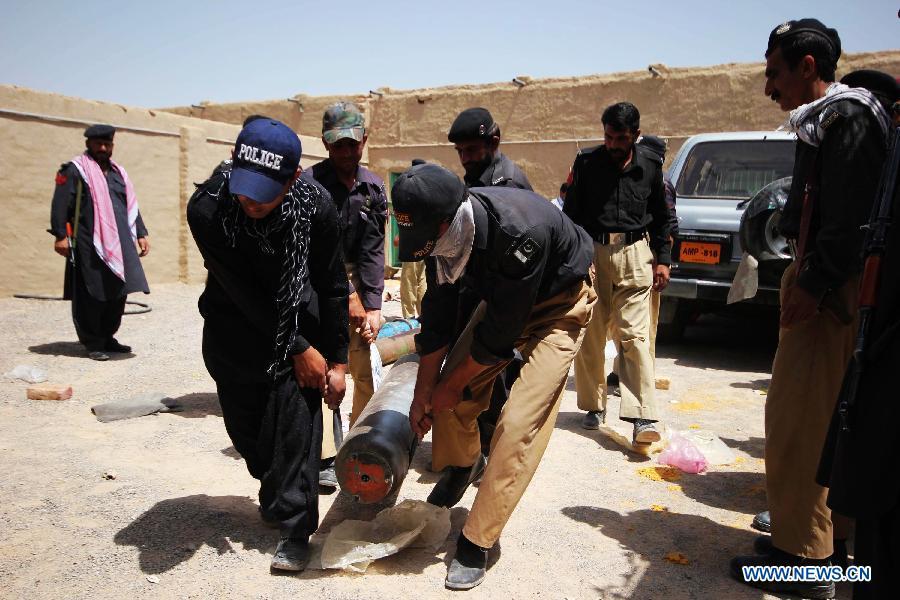Rocket Tube 250 Kg Of Explosive Seized By Pakistan Police