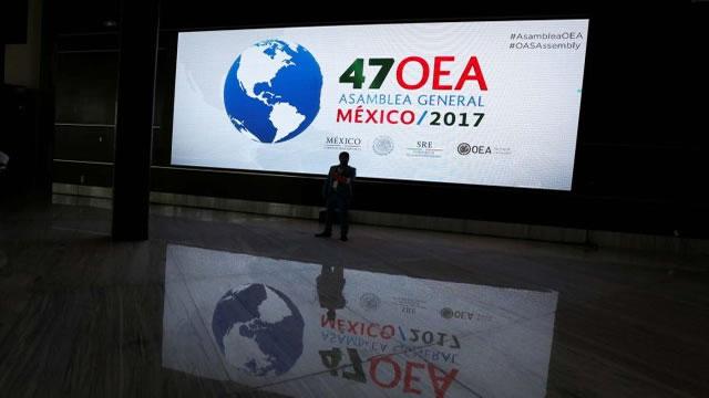 Asamblea General de la OEA espera concluir con un acuerdo sobre Venezuela