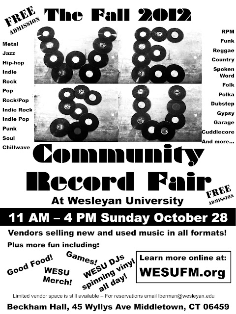 a35684a0 The fair will be held in Beckham Hall on the Wesleyan University campus (45  Wyllys Ave. Middletown, CT). Vendors will be selling new and used music in  all ...