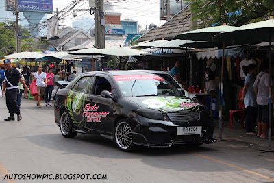Autoshow Pic Modified Toyota Vios In Thailand