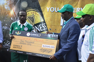 victor moses 2000 dollars guinness