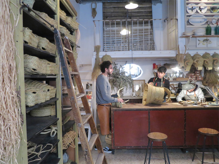 bonnes adresses artisanat Madrid