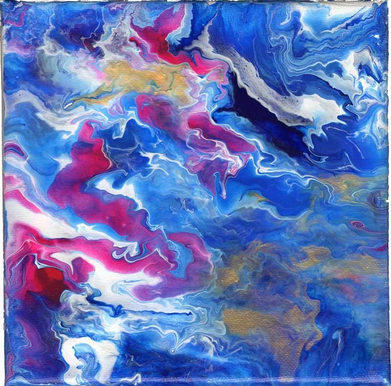 Art Pourings: Abstract Fluid Acrylic Pouring - Untitled ...