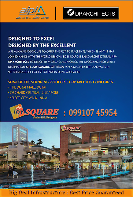 aipl joy square, aipl joy square sector 63A gurgaon, AIPL Gurgaon, aipl new launch, aipl upcoming project gurgaon, aipl new launch market, aipl prelaunch high street market, Commercial project on Golf Course Extension Road gurgaon, 12% assured return and lease guarantee in gurgaon,