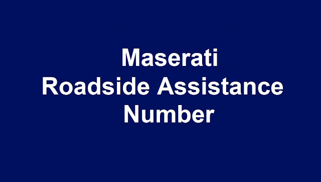 Maserati Roadside Assistance Number