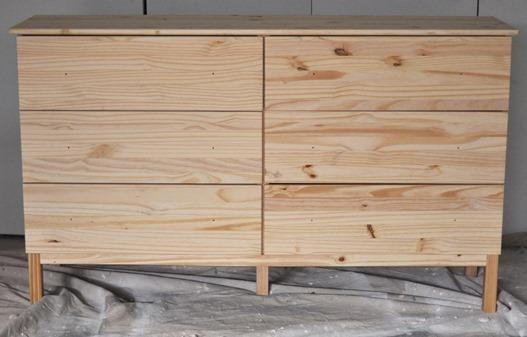 Ikea Tarva Textured Panel Dresser Makeover Ikea Hackers