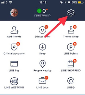 Cara Backup Chat Line di iCloud iPhone