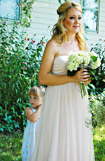 outdoor, children, wedding, flower girl, Summertime wedding, vintage wedding