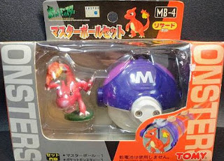 Charmeleon figure Tomy Master Ball Set MB-1