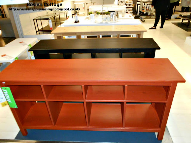 HEMNES Console Tables at Ikea