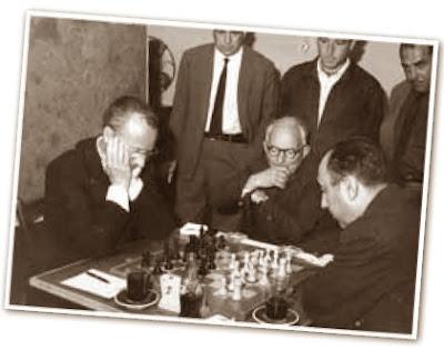 Partida Lladó-Calduch, 2ª ronda del I Torneo Nacional de Ajedrez de Granollers 1964 (2)
