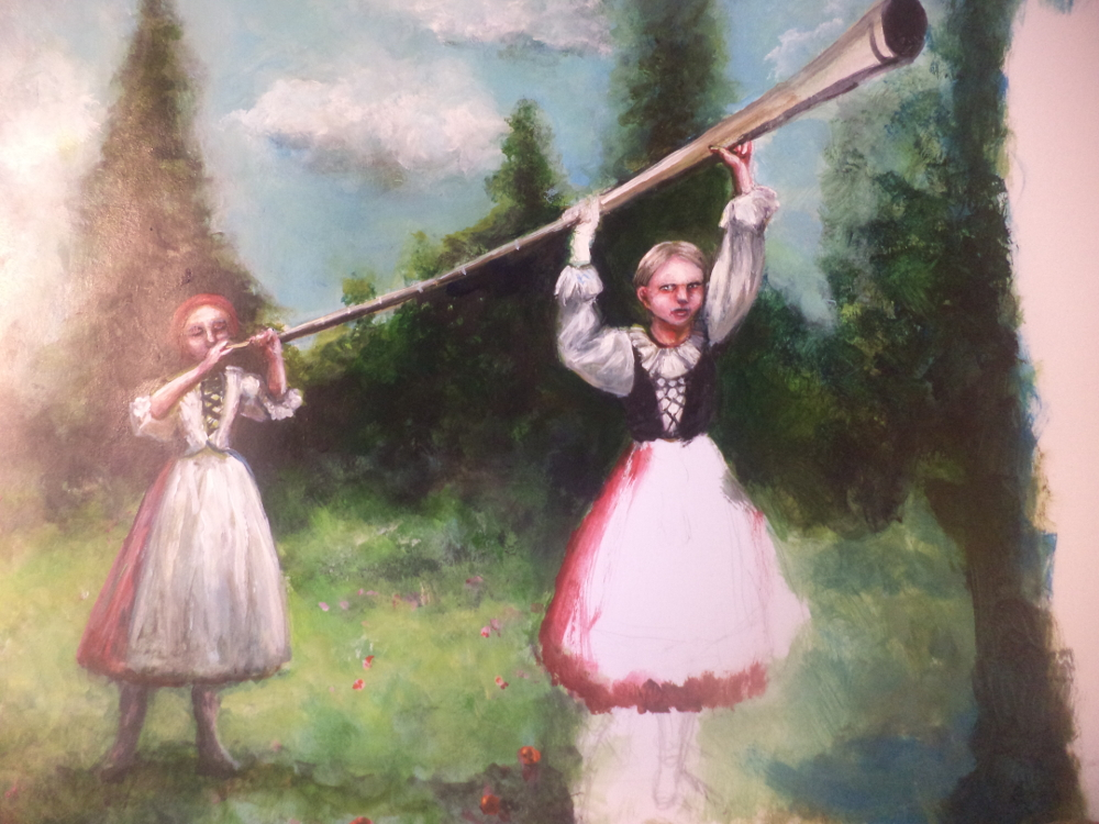 the shepherds horn and norwegian romantic • gluck ballet of the shepherds (separated from the woodwinds by a dash) is for horn the beethoven example is typical of much classical and early romantic.