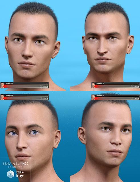 Versatile Morphs For Genesis 3 Male