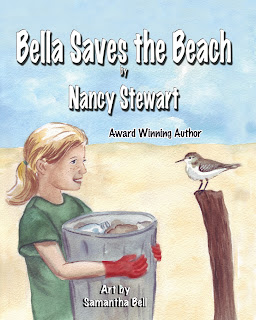 Bella Saves The Beach by Nancy Stewart l LadyD Books