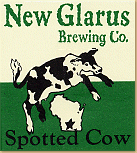 New Glarus Brewing Spotted Cow bottle label