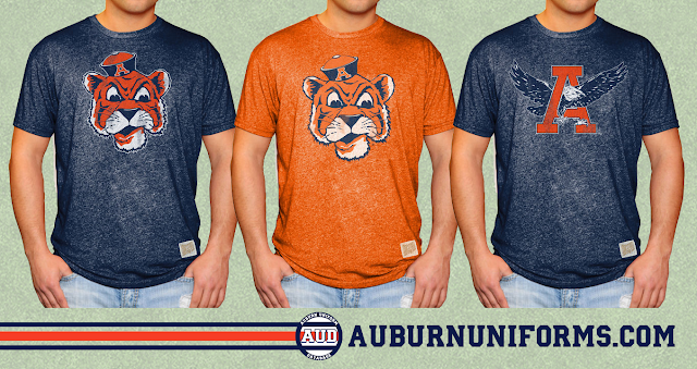 auburn throwback shirt