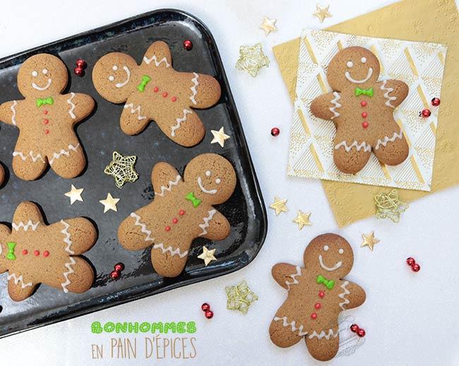 biscuits bonhommes pain d'épice