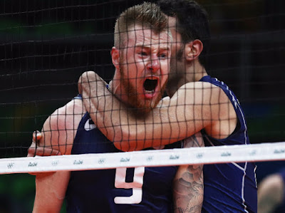USA Loses to Italy in Men's Volleyball