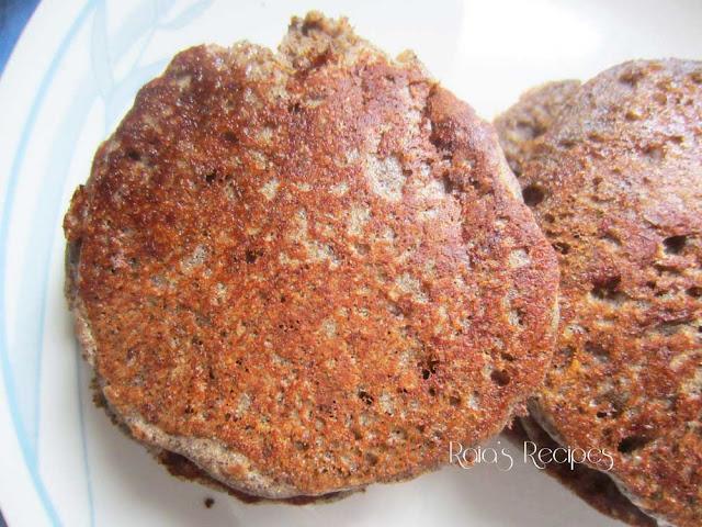 Soaked Buckwheat & Sorghum Pancakes   www.RaiasRecipes.com