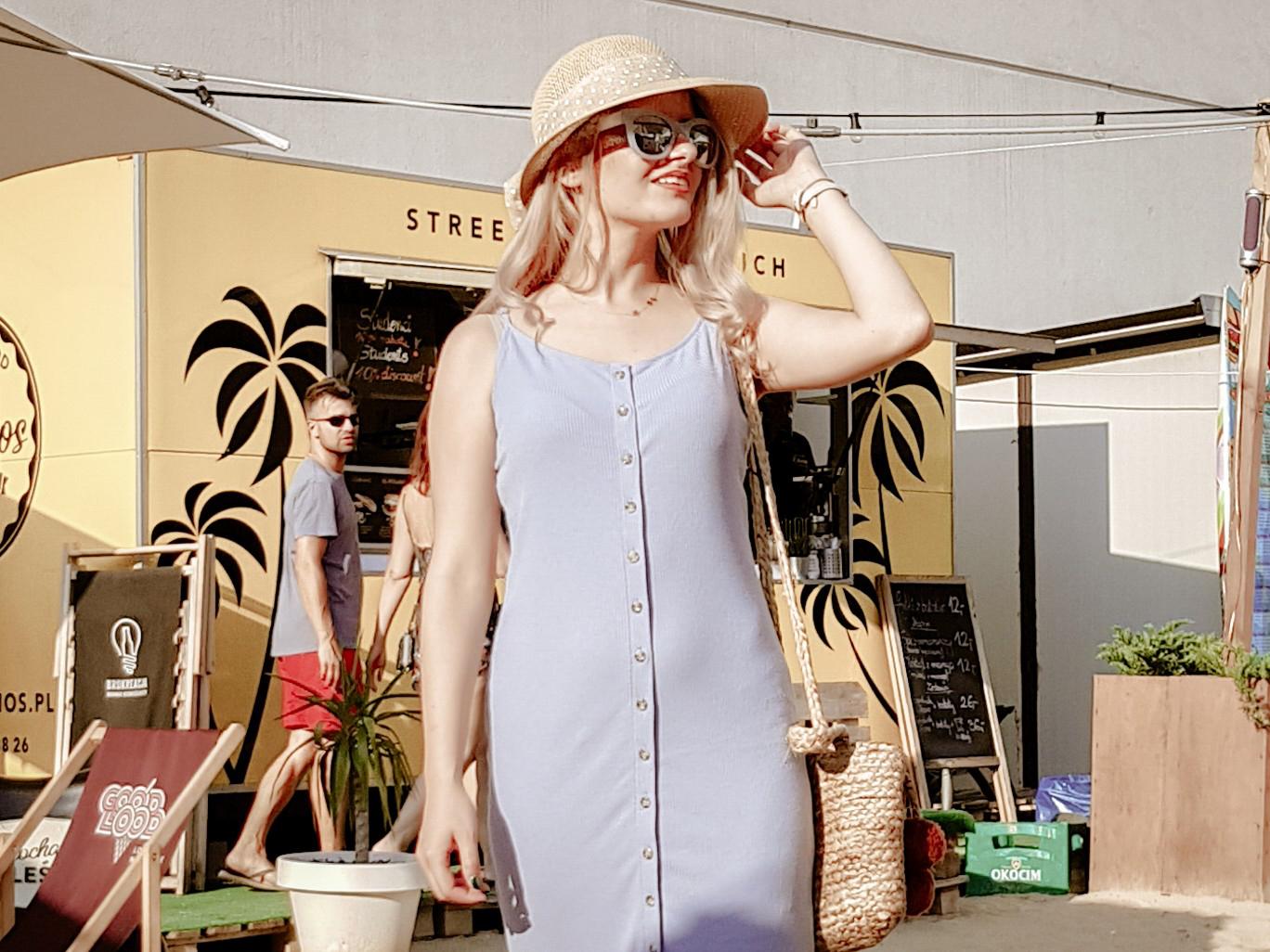 SUkienka forever 21 buty CCC torebka Bershka Letni look