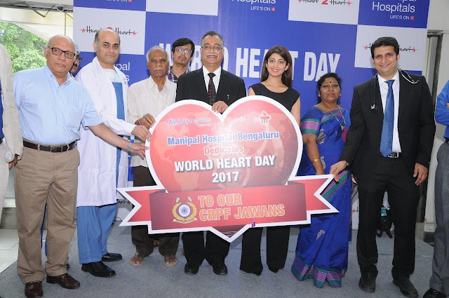 On Account of World Heart Day, Manipal Hospitals Bangalore Organizes Awareness Drive for CRPF Jawans