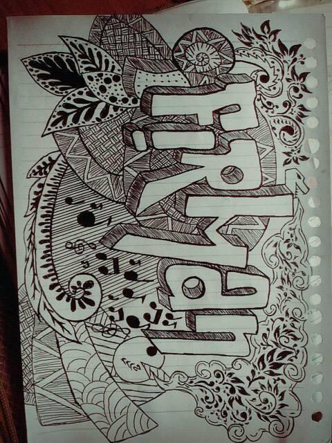 Niksmart Contoh Doodle