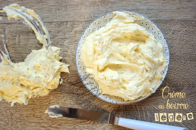 recette crème au beurre facile
