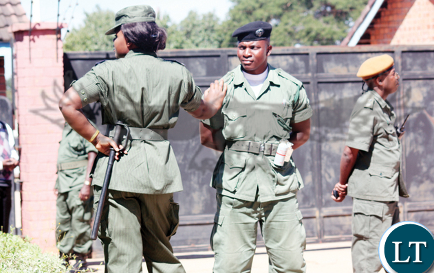 Zambia Police Recruitment 2019