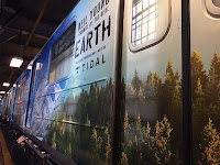 Neil Young EARTH-Train in New York