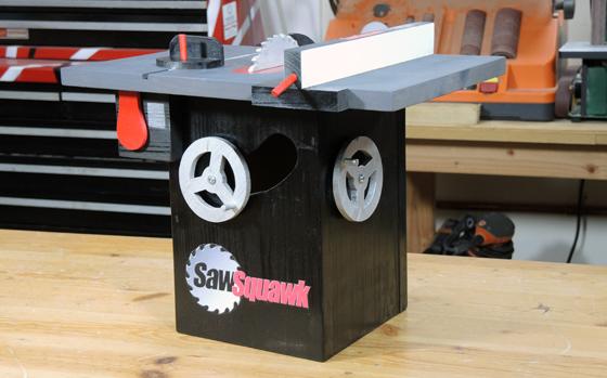SawSquawk Birdhouse