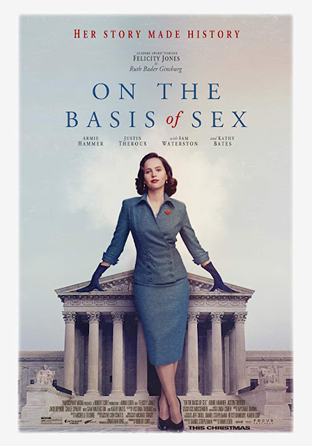 On the Basis of Sex 2018 movie poster