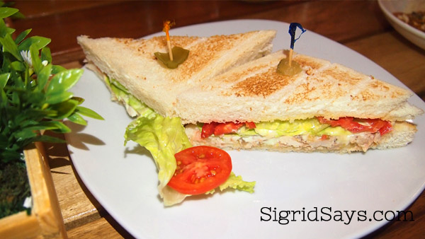 Roli's Cafe Chicken Sandwich - Bacolod restaurant